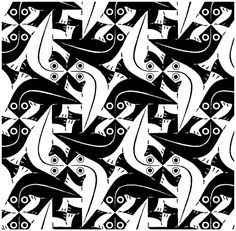 Download Tessellation Coloring Pages ✖️M.C. Escher ✖️Fosterginger @ Pinterest✖️