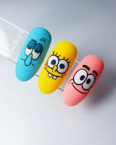 Disney Acrylic Nails, Halloween Acrylic Nails, Simple Acrylic Nails, Summer Acrylic Nails, Best Acrylic Nails, Acrylic Nail Designs, Edgy Nails, Swag Nails, Grunge Nails