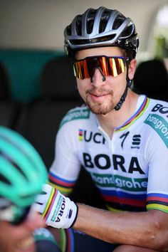 Peter Sagan of Slovakia and BoraHansgrohe looks on prior to stage two of the 2018 Tour Down Under on January 17 2018 in Adelaide Australia