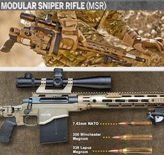 ".50 Caliber Sniper Rifle - ""FOR THE SNIPER ON THE GO""  New Remington ""Space-Gun"" Modular Sniper Rifle - Source: https://www.facebook.com/GunsAmmoBlades"