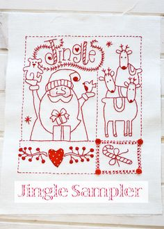 Jingle Sampler. - Red Brolly