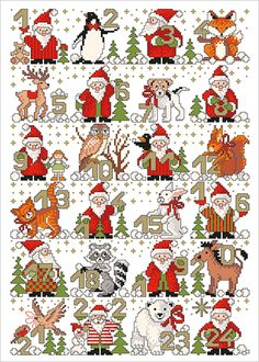 #adventszeitAdventszeit Christmas Charts, Cross Stitch Christmas Ornaments, Xmas Cross Stitch, Cross Stitch Cards, Cross Stitch Alphabet, Christmas Embroidery, Cross Stitching, Cross Stitch Embroidery, Christmas Cross Stitch Patterns