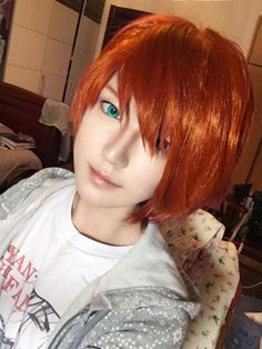 SO amazing!! cosplay of Nathaniel a.k.a. Tomato Boy from Miraculous Ladybug (there's MORE inside!) <3