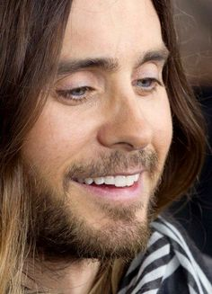 I think there should be a law that Jared has to be made smile all the time!