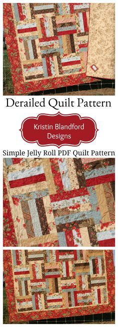 11 rail fence quilt patterns a couple are even for jelly rolls derailed quilt pattern jelly roll friendly fandeluxe Image collections