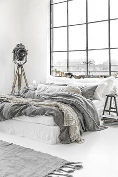 Best bed linens for your home Brown Bed Linen, Neutral Bed Linen, White Linen Bed, Grey Bedding, Linen Bedding, Luxury Bedding, Luxury Bed Linens, Bedding Sets, Linen Bedroom