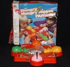 Childhood Memory Keeper: Retro Pop Culture from the 1960s, 1970s and 1980s: Hungry Hungry Hippos Game