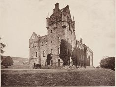 Carbon Print of Brodick Castle