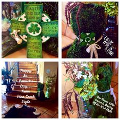 A quick decor item to display for your St. Patty's Irish Celebration....from Pine Creek Style posted on our Facebook page! Love & Share today with Stylexo, Née Cee
