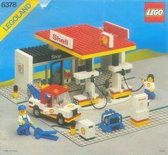 Shell Service Station - Legoland 6378