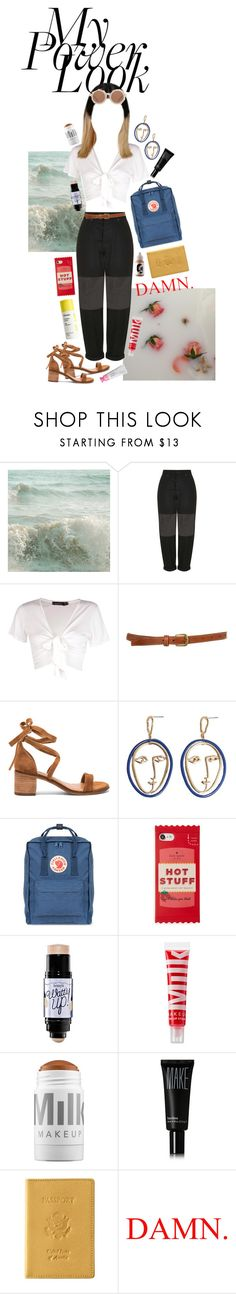 """i feel goood 🌶 contest"" by heavydxrtysoul ❤ liked on Polyvore featuring WALL, Boutique, Boohoo, Topshop, Steve Madden, MANGO, Fjällräven, Kate Spade, Benefit and MILK MAKEUP"