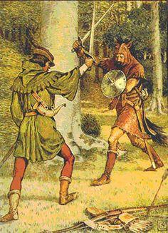 Robin Hood: Development of a Popular Hero | Robbins Library Digital Projects