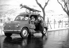 Vintage Ski Fiat 600