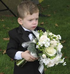 Only a ring bearer would touch