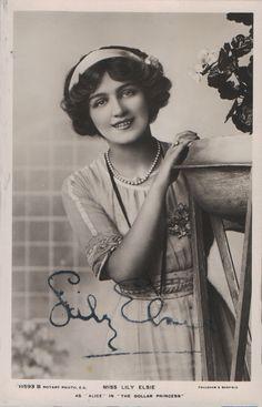 Lily Elsie (Rotary 11593 B)
