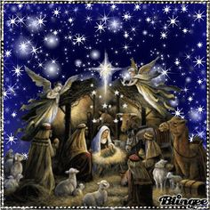 Birth Of Christ Merry Christmas GIF - Tenor GIF Keyboard - Bring Personality To Your Conversations Merry Christmas Gif, Holiday Gif, Christmas Nativity Scene, Christmas Night, Christmas Scenes, Merry Christmas And Happy New Year, Christmas Pictures, Christmas Angels, Christmas Art