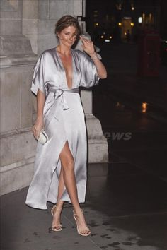 millie mackintosh fantastic in sexy silver dress 2015