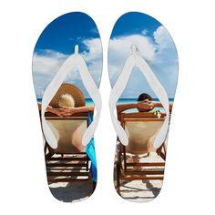 Beach Relaxation Flip Flops