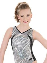 Black Ice Workout Leotard from GK Gymnastics