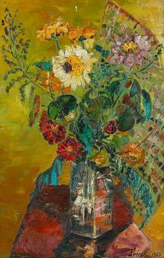 Maria Frecon    Sunflowers