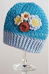 Detské čiapky - Príďže jar - 1221778