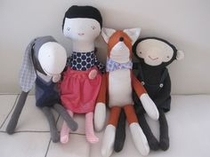 My doll family.
