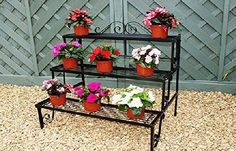 GAP Garden Products 3 Tier Plant Pot Stand Heavy duty robust product developed from the tried and tested design (many of which are flimsy and difficult to assemble). Its generous and balanced proportions make it (Barcode EAN = 5013299003107) http://www.comparestoreprices.co.uk/december-2016-week-1-b/gap-garden-products-3-tier-plant-pot-stand.asp