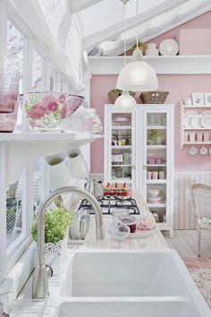 Cozinhas com Detalhes Fofos? Eu adoro.