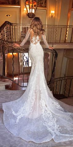 long sleeve mermaid wedding dresses 2018 from milla nova Wedding Dresses 2018, Wedding Suits, Bridal Dresses, Off White Wedding Dresses, Bridesmaid Dresses, Wedding Dress Sleeves, Dress Wedding, Mermaid Dresses, Mermaid Wedding