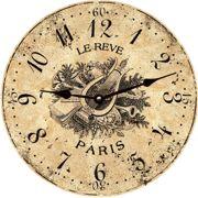 clock face printable