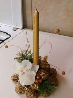 Ako využiť orechové škrupinkyna vianočné dekorácie..