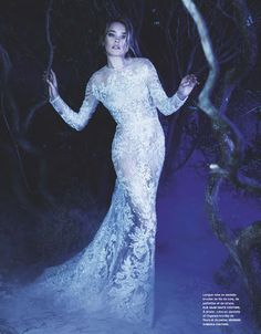 Once upon in a Fairytale - Inspiration. La Couture Enchantée. Natalia Vodianova by Karl Lagerfeld for Numero