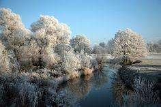 Snow in Stratford.