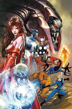 Marvel by Michael Turner