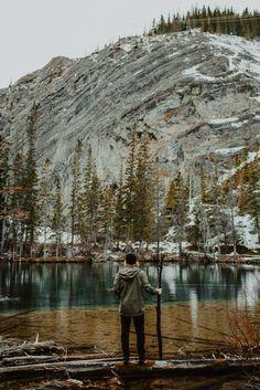 Grassi Lakes hike.
