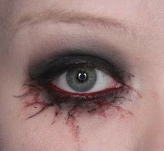 Makeup your Jangsara: Halloween tutorial: Scary sexy character.