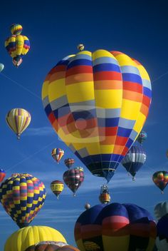hot air balloons in the sky - Google Search