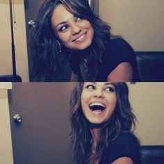 Mila Kunis  It's amazing how this gorgeous woman doesn't even find herself attractive. I love her odd looks; they make her unique and so beautiful.