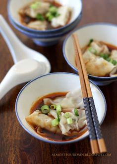 Yums - Wontons Egg Rolls on Pinterest | Wontons, Wonton Cups and Baked ...
