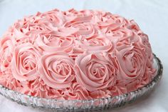 ImageFind images and videos about pink, food and sweet on We Heart It - the app to get lost in what you love. Chocolates, Pink Rose Cake, Pink Roses, Rose Icing, Pink Sweets, Incredible Edibles, Edible Cake, Specialty Cakes, Pretty Cakes