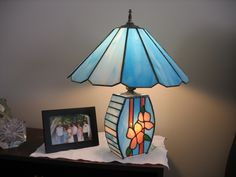 LAMP BASE AND SHADE
