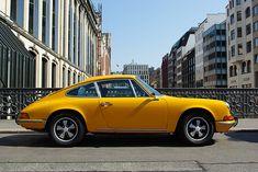 #Porsche 911 looking gorgeous in yellow. #Speed #German #SportsCar #Classic #Power