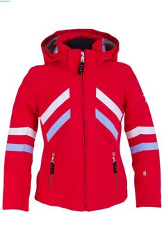 Bogner Girls Marielle Jacket - Fire Red