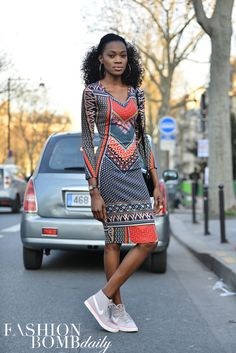 Paris is on fire with scintillating street style! David Nyanzi has managed to capture it all. Take a look at the fabulosity, straight from France: