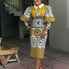 The collection of Beautiful Ankara Pattern Styles For Ladies you've ever wanted to see. Want to style and pattern your African print ankara African Fashion Ankara, Ghanaian Fashion, African Print Dresses, African Print Fashion, Africa Fashion, African Dress, Fashion Prints, African Prints, Fashion Design