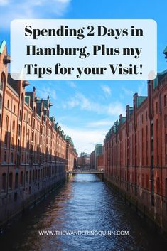 What I Got Up To in Hamburg for 2 Days Plus my Tips for Your Visit!  I found some real gems in Hamburg for food and drink, plus some great viewpoints. Here is what I got up to and things I recommend you to in Hamburg! #hamburg #cometohamburg #germanytravel #europe