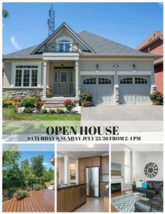 Please Join Us This Saturday and Sunday July 25/26 from 2-4 PM! MLS# E3269369 #buy #sell #moving #realestate #durhamrealestate #whitby #MLS #remax