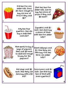 Can I Buy It? Money Word problems -         Repinned by Chesapeake College Adult Ed. We offer free classes on the Eastern Shore of MD to help you earn your GED - H.S. Diploma or Learn English (ESL) .   For GED classes contact Danielle Thomas 410-829-6043 dthomas@chesapeake.edu  For ESL classes contact Karen Luceti - 410-443-1163  Kluceti@chesapeake.edu .  www.chesapeake.edu