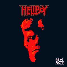 Ilustración de Hellboy mia :p