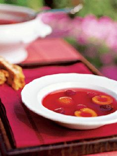 Spiced Fruit Soup - this looks wonderful!